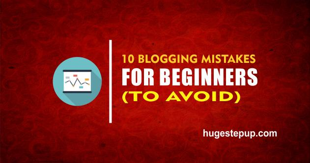 These are 10 blogging mistakes for beginners to avoid.